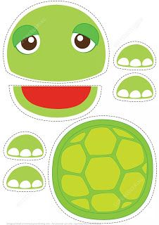 Turtle Toy Paper Craft from Paper models category. Hundreds of free printable pa… Turtle Toy Paper Craft from Paper models … Shape Activities Kindergarten, Activities For Kids, Vocabulary Activities, Paper Bag Crafts, Paper Toys, Glue Crafts, Kids Crafts, Paper Bag Puppets, Animal Templates