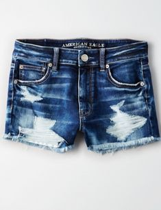 American Eagle Shorts - Eagle Shirt - Ideas of Eagle Shirt Shirt - American Eagle Shorts American Eagle Shirts, American Eagle Sweater, American Clothing, Blue Ripped Jeans, Blue Jean Shorts, Skinny Jeans, Jeans Outfit Summer, Summer Outfits, Summer Shorts