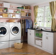 laundry room- upstairs?