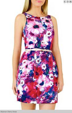 Shannon Cherry Dress