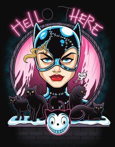 #batman #catwoman #dccomics