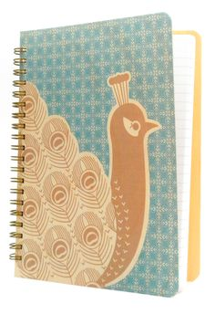 Beautiful birch bound notebook to keep track of your knitting progress.