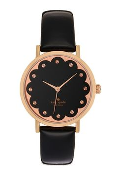 You'll never be late for a meeting with this cute, yet sophisticated watch!