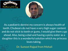 Hear what they have to say about ChuBears..!! #Chubears #GapcoHealthcare #Chandigarh #Mohali #India
