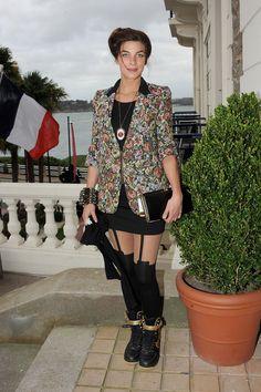 Natalia Tena (Osha in Game of Thrones) Natalia Tena, Special Games, Celebrities, Celebs, Stockings, Beautiful Women, Punk, Actresses, How To Wear