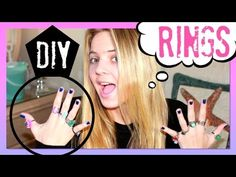 ▶ DIY RINGS - DIY Jewelry from Sea Glass, Buttons & Charms -How to Make Beach Jewelry  YouTube