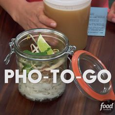 Jeff's easy recipe for traditional Vietnamese soup can be taken to work or school. Try it ASAP!