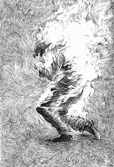 Gravure Illustration, Illustration Art, Motif Art Deco, Dark Art Illustrations, Monochrom, Ink Pen Drawings, Pen Art, Drawing Techniques, Aesthetic Art