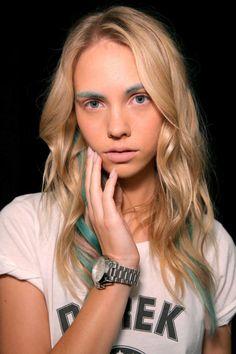 28 Transfixing Fashion Week Makeovers  - ELLE.com