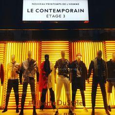 """PRINTEMPS MEN, Paris, France, """"Le Conteporain - Liberty Du Style"""", photo by Adeline Gabale, pinned by Ton van der Veer"""