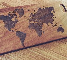 World Map Natural Wood Engraved iPhone 6s Case iPhone 6s plus Cover iP