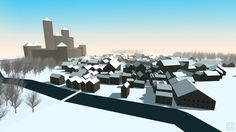 Toy Town is a 3d-visualizer for Medieval Fantasy City Generator.