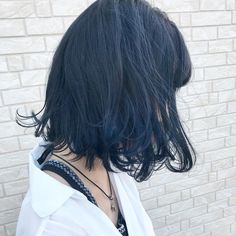 """Blue Ash Blue Ash Hair Color HAİR STYLE, Blue Ash The first hair color of blue-blue hair color Blue Ash is """"Don& bleach"""". If you want to make blue ash without bleaching, it is recommende. Ash Blue Hair, Dyed Hair Blue, Ash Hair, Edgy Hair, Hair Color For Black Hair, Blue Ash, Korean Hair Color, Dying My Hair, Hair Streaks"""