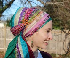 Wrapunzel.com » Headscarves. Beautiful. Fun. Affordable. Hand picked for you! » Sari Scarves