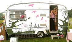 cool vintage camper paint jobs - Google Search