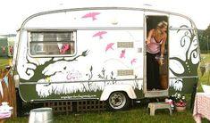 cool vintage camper paint jobs - Google Search