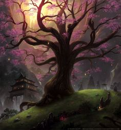 Sakura Sanctuary by *Industrial-Forest on deviantART