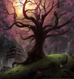 Sakura Sanctuary by *Industrial-Forest on deviantART