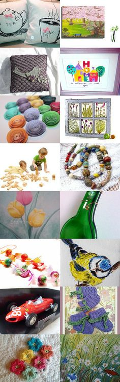 Flowers magic by Agne Ramonaite-Bockiene on Etsy--Pinned with TreasuryPin.com