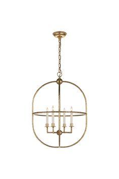 "Desmond Open Oval Lantern $798. Height: 28.75"" Width: 21"""