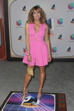 Lili Estefan Photos - Lili Estefan attends the Univision's 13th Edition Of Premios Juventud Youth Awards at Bank United Center on July 14, 2016 in Miami, Florida. - Univision's 13th Edition Of Premios Juventud Youth Awards - Arrivals