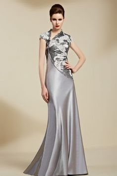Alluring Malay & Beaded Lace High Collar Neckline Floor-length A-line Sexy Prom Dress A Line Prom Dresses, Beautiful Prom Dresses, Prom Dresses Online, Party Dresses For Women, Ball Dresses, Homecoming Dresses, Formal Dresses, Bridesmaid Dresses, Sequin Evening Dresses