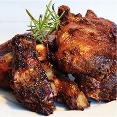 Tandoori Chicken, Ribs, Food Inspiration, Grilling, Recipies, Pork, Food And Drink, Turkey, Yummy Food