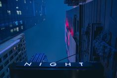 night, blue, and neon image Inspiration Artistique, Night In The Wood, Neon Nights, Blue Aesthetic, Aesthetic Photo, Gotham City, Night Photography, Street Photography, Neon Lighting