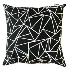 Triangle Cushion by Muovo, Finland.  Several colors.