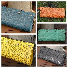 Go check out our BRAND NEW colors available in our Laser Cut Clutch! $47 Purchase Here>>>http://www.shoppage6.com/products/laser-cut-clutch