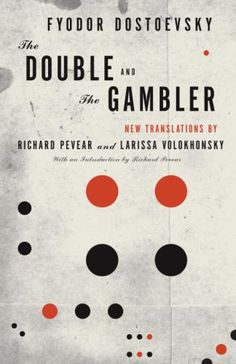 The Double and The Gambler – cover design by Peter Mendelsund