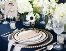 57 Extremely Elegant Navy And White Wedding Ideas