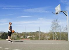 The Distance From the Hoop to the Free Throw Line in Basketball - #basketball #sports #league #bball #NBA #team #player #TeamOwner #NCAA #CollegeBasketball #fun