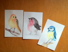Picturile Roxanei-Babyart: My Three Little Birds Three Little Birds, Baby Art, Third, Painting, Painting Art, Paintings, Painted Canvas, Art Kids, Drawings