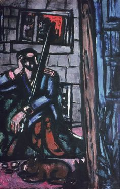 Cave to Canvas, The Shooter - Max Beckmann, 1947