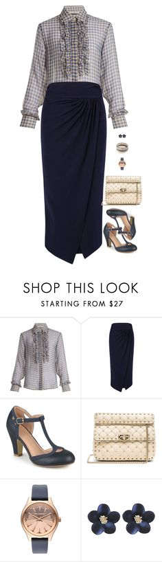 """""""Untitled #9651"""" by miki006 ❤ liked on Polyvore featuring AlexaChung, Atea Oceanie, Journee Collection, Valentino, Karl Lagerfeld and New Directions"""