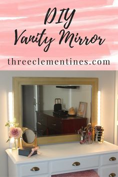 DIY Vanity Mirror, V