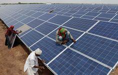 India, Renewable energy, Solar cell energy