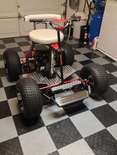 Custom made Bar Stool Racer / Barstool Go Kart