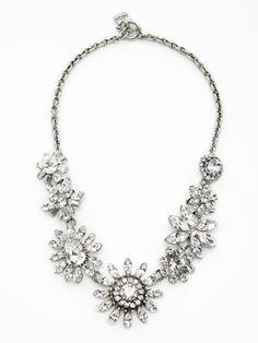 GORGEOUS, Rodrigo Otazu Swarovski Crystal necklace