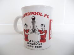 Liverpool FC Double Winners Cup 1986 by LFCcollectables on Etsy, £9.99