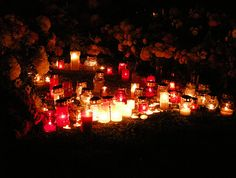 red candles for restless spirits