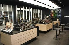 Cheaper Retail Architecture Design retail store design As a high-end jewelry store, the display should highlight the luxurious, elegant, emphasizes the artistic Mac Miller, Big Mac, Retail Architecture, Architecture Design, Mac Shop, Mac Cosmetics, Coffee Shop, Mac Makeup, Makeup Geek