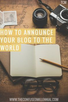 """One reader asks, """"I just started blogging a month ago but I am nervous to announce it on my social media pages because I'm concerned about the judgment to follow.How did you announce your blog to """"the world?"""" Did it take you awhile to gain readers and subscribers? What did you do to entice people to want to visit your blog? I've seen that I should offer some free object of some sort but I don't have anything to offer. Do you have a social media account for the blog and for your own personal…"""