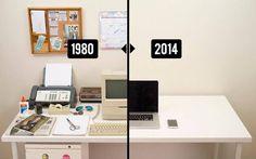 No sólo evoluciona el hombre, ¡también nuestros escritorios!