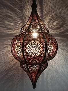Oriental Ceiling Lamp Malha Lighting Light fittings and pendant lamps Lamps made of metal Moroccan Hanging Lanterns, Moroccan Chandelier, Moroccan Lighting, Moroccan Lamp, Hanging Chandelier, Chandelier In Living Room, Hanging Lights, Moroccan Ceiling Light, Moroccan Bedroom