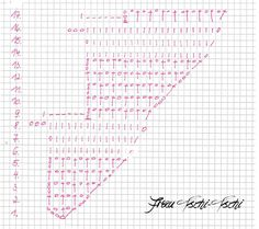 Drachenschwanztuch Drachenschwanz Tuch häkeln Anleitung kostenlos gratis Häkelanleitung Crochet Pattern free Zackenschal Freebie Schal Tutorial englisch deutsch english german kite tail towel dragon tail Wingspan Loop Loom Anfänger beginner easy