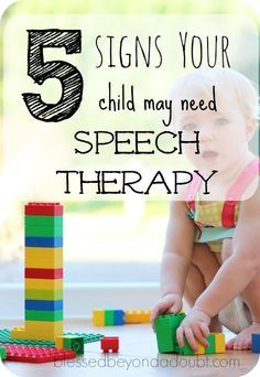 Check out these 5 signs to see if your child may need Speech therapy. My child needed it when he was 3 years old.