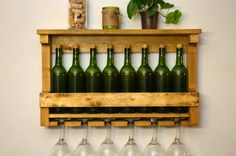 green_bottle_pallet_wine_rack