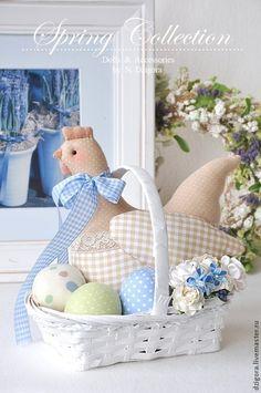 Купить Утро в Провансе. Пасхальная композиция - пасхальный подарок, пасхальная композиция, пасхальный декор